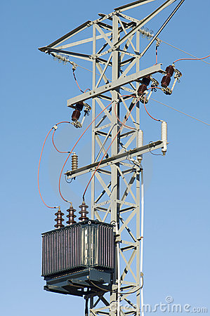 Free Electric Transformer Royalty Free Stock Images - 12252829
