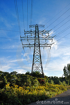 Free Electric Transmission Tower Royalty Free Stock Photos - 10947438