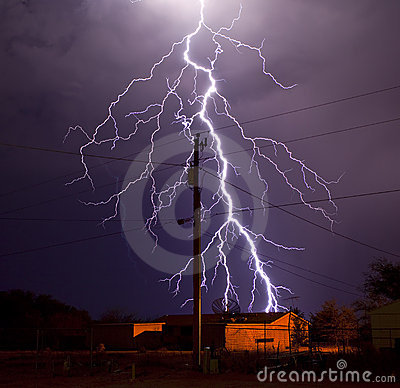 Free Electric Utility Lightning Stock Photo - 13713850