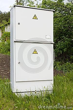 Electric village metal box