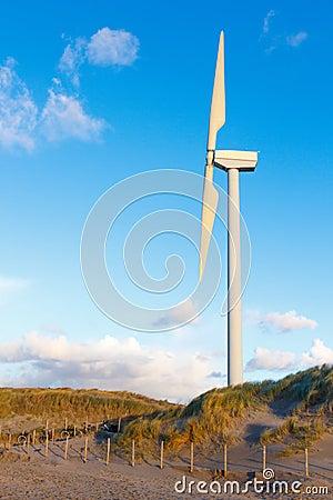 Electric Wind Turbine
