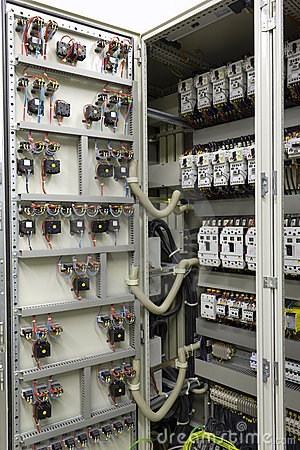 Free Electrical Automation And Control Equipment Stock Image - 19839701
