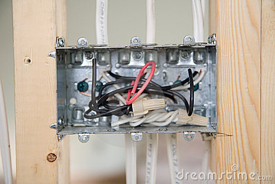 Electrical Box with wiring