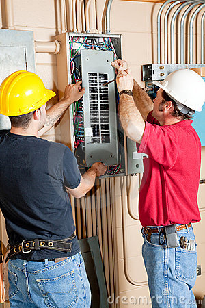 Electrical Breaker Panel Repair