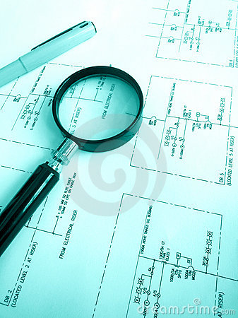 Free Electrical Engineering Circuit Plans Stock Image - 11281641
