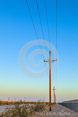 Electrical overland line
