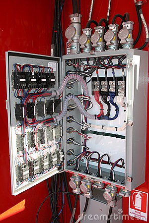 Free Electrical Panel Royalty Free Stock Photos - 3277818