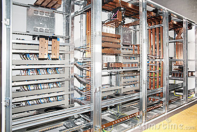Electrical Panel Board Construction Royalty Free Stock Image ...