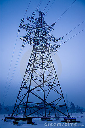 Electrical power line tower