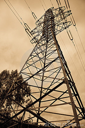 Free Electrical Power Lines Royalty Free Stock Photography - 13022557