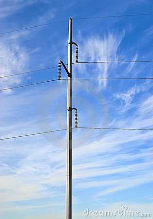 Free Electrical Power Transmission Lines Royalty Free Stock Images - 12002669