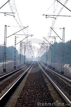 Electrical Rail Road Tracks