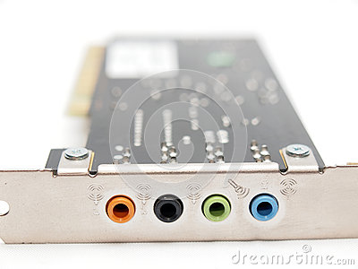 Electrical sound card