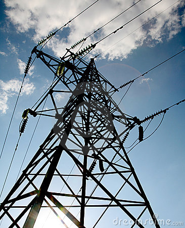Free Electrical Tower Royalty Free Stock Images - 5661829