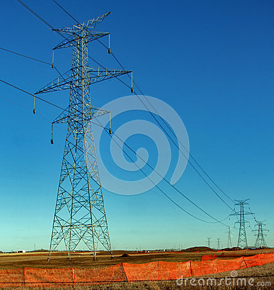 Electrical Towers and High Tension Cables