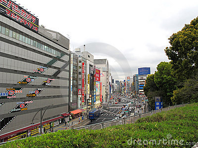Electrical Town of Akihabara in Tokyo Editorial Stock Image