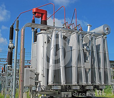 Electrical transformer to a powerhouse