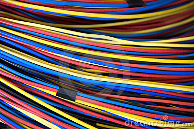 Electrical Wires Stock Photo - Image: 5270230