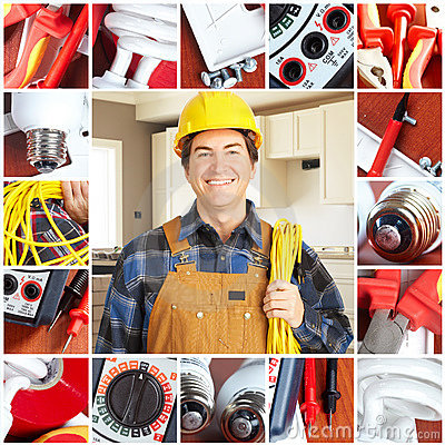 Free Electrician Royalty Free Stock Photos - 14471058
