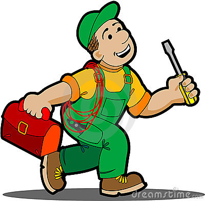 Free Electrician Clipart 1