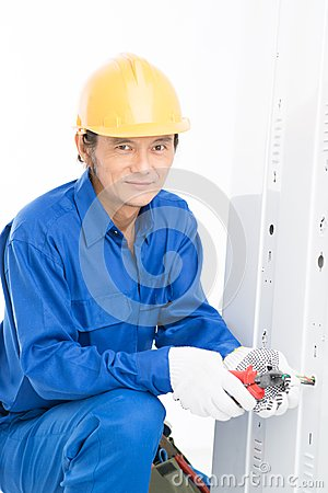 Free Electrician Stock Photo - 28928760