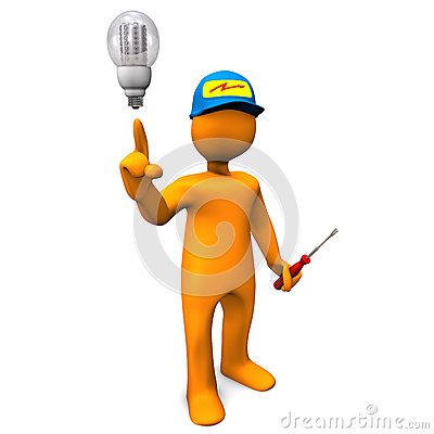 Free Electrician LED Stock Photos - 31556143