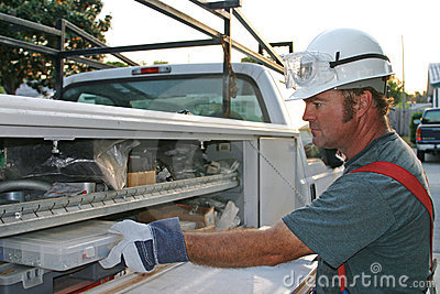 Electrician with Service Truck 1