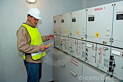 Electrician in switching power