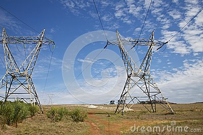 Electricity Royalty Free Stock Photo - Image: 25182875