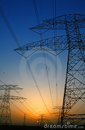 Free Electricity Royalty Free Stock Image - 9126846