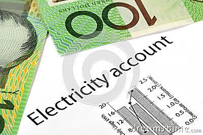 Electricity Account with Australian Money