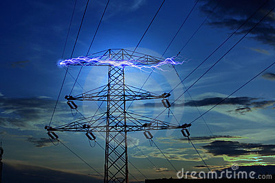 Electricity concept