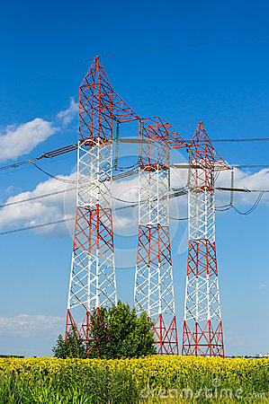 Electricity industry, technology, power line
