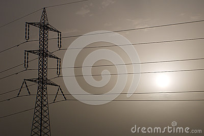 Pylon and Sun