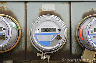 Electricity meter for a home