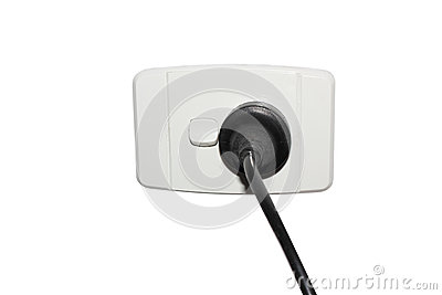 Electricity  plug and outlet