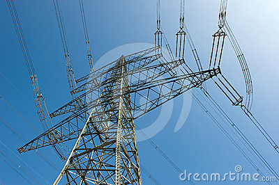 Electricity Pylon Royalty Free Stock Image - Image: 24336526