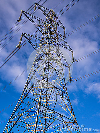 Free Electricity Pylon Tower Stock Photography - 33787872