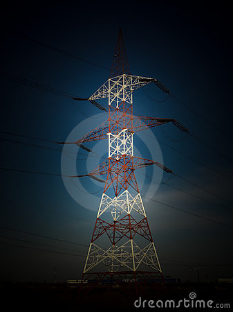 Free Electricity Tower Stock Images - 16862544