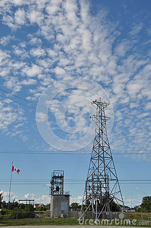 Free Electricity Tower Royalty Free Stock Images - 40335229