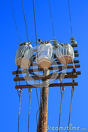Free Electricity Transformer Stock Photo - 10630680