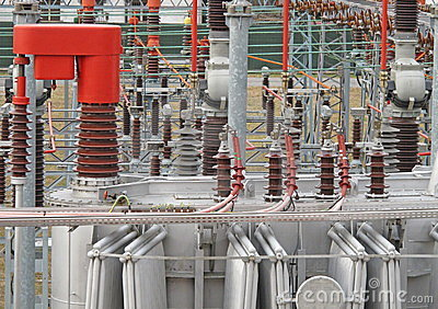 Electricity from transformer high voltage