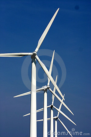 Free Electricity Wind Mills Royalty Free Stock Images - 674359