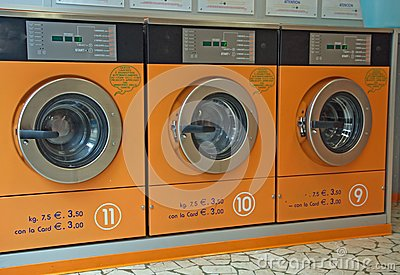 Electronic automatic washing machines