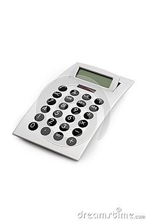 Electronic Calculator Isolated