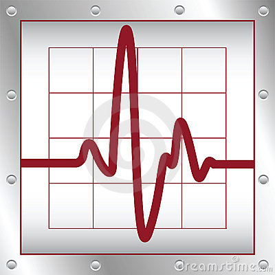 Free Electronic Cardiogram Stock Image - 20529361