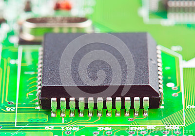 Electronic chip on board