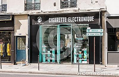 Electronic shop paris