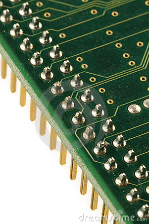Free Electronic Circuit Royalty Free Stock Photography - 1827667