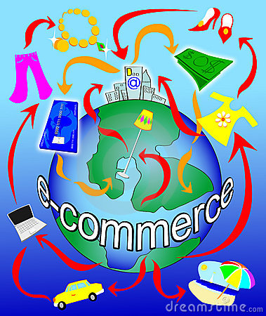 Free Electronic Commerce On The Planet Stock Images - 10179754